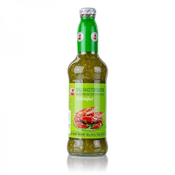 Cock Brand - Chili-Sauce für Seafood grün Cock Brand