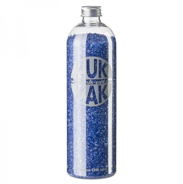 Deli-Vinos Patisserie - Farbiger Kristallzucker - ZUK ZAK blau