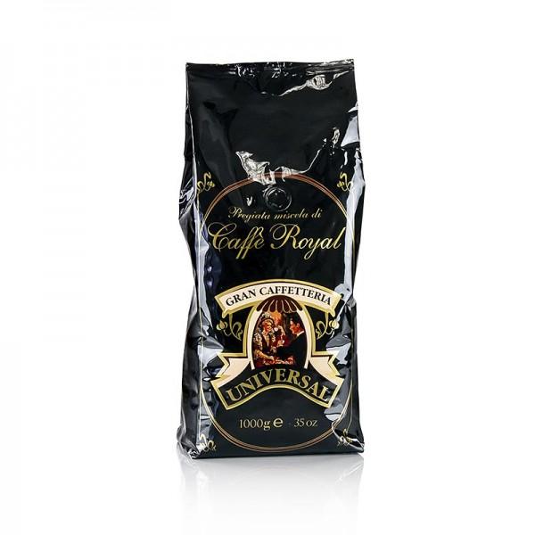 Caffe Royal - Espresso - Universal Royal 100% Arabica ganze Bohnen