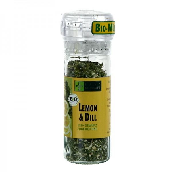 Easy Gourmet - Gourmet-Gewürzmühle Lemon & Dill Gewürzzubereitung BIO