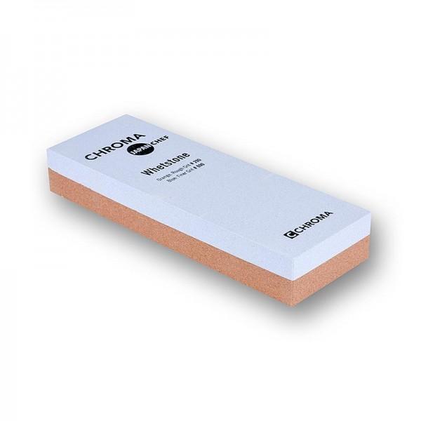 Chroma - Chroma ST-2/8 Schleifstein Körnung 200/800 ohne Halterung 180x6.3x28mm