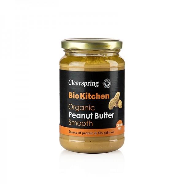 Clearspring - Organic Peanut Butter smooth (Erdnusspaste / Pindakaas) Clearspring BIO