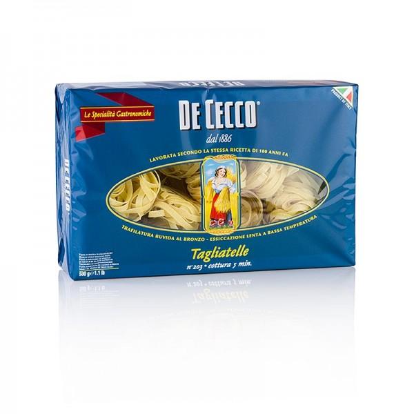De Cecco - De Cecco Tagliatelle No.203