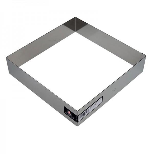 de Buyer - deBUYER Rahmen quadratisch Edelstahl 24 x 24cm 4.5cm hoch