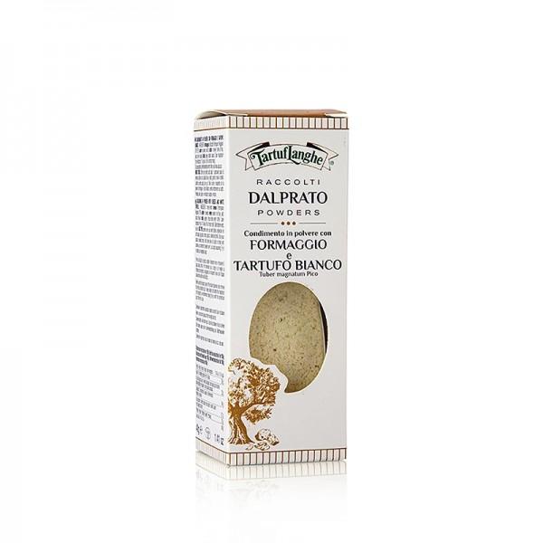 Tartuflanghe - TARTUFLANGHE DALPRATO® Parmigiano mit w. Trüffel Pulver dehydriert