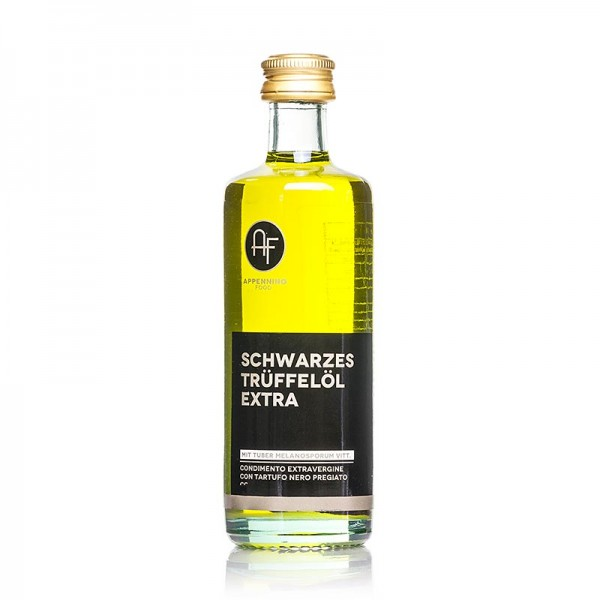 Appennino - Olivenöl Nativ m. schwarzem Trüffel-Aroma (Trüffelöl) Appennino