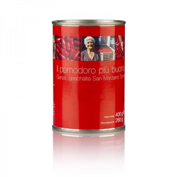 San Marzano - San Marzano Tomaten ganz rot geschält Kampanien Italien
