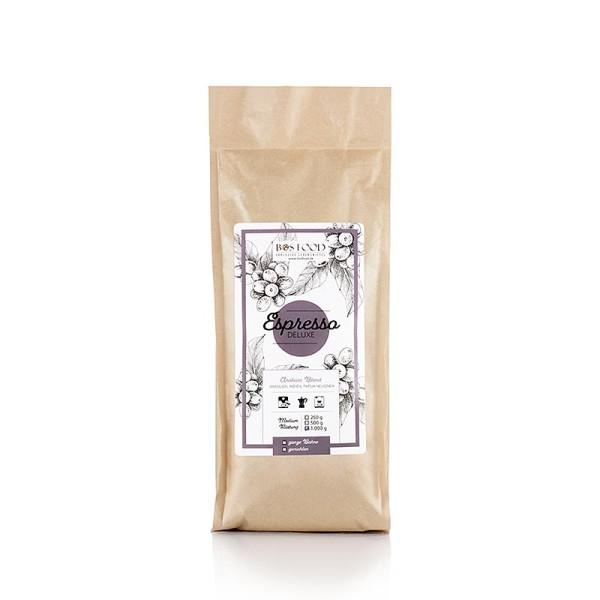 Bos Food - BOS FOOD De Luxe - Espresso 100% Arabica ganze Bohnen
