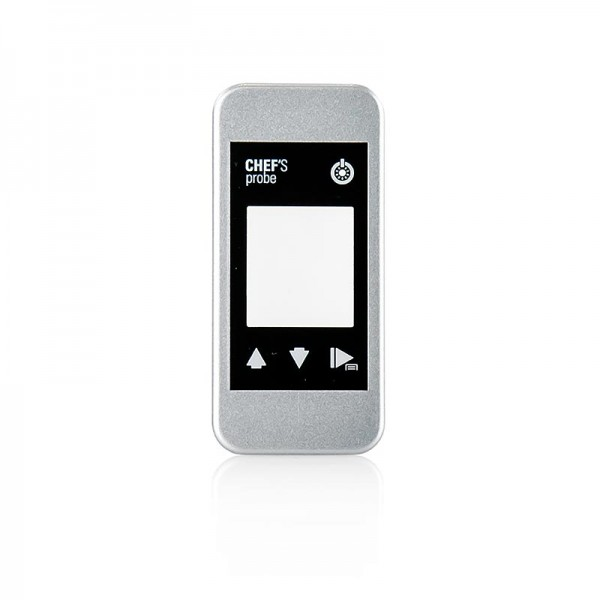 Chef´s Probe - Chef´s Probe Front Silver silberne Austauschfront für das Thermometer