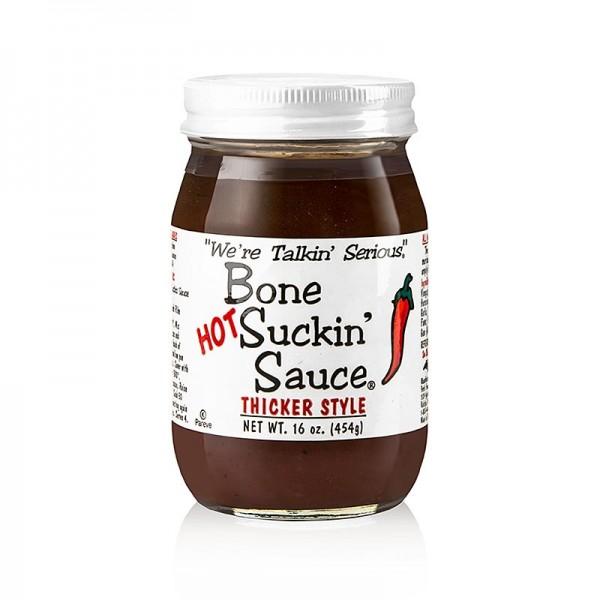 Bone Suckin' - Bone Suckin´ Sauce Hot BBQ Sauce (dickflüssig) Ford´s Food