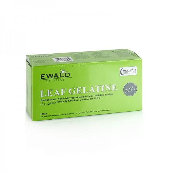 Ewald Gelantine - Blatt Gelatine Rind 1 kg (Halal)