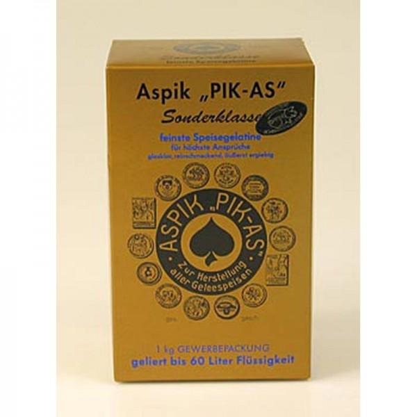 Pik-As - Aspikpulver PIK-AS Sonderklasse Speisegelatine 300 Bloom