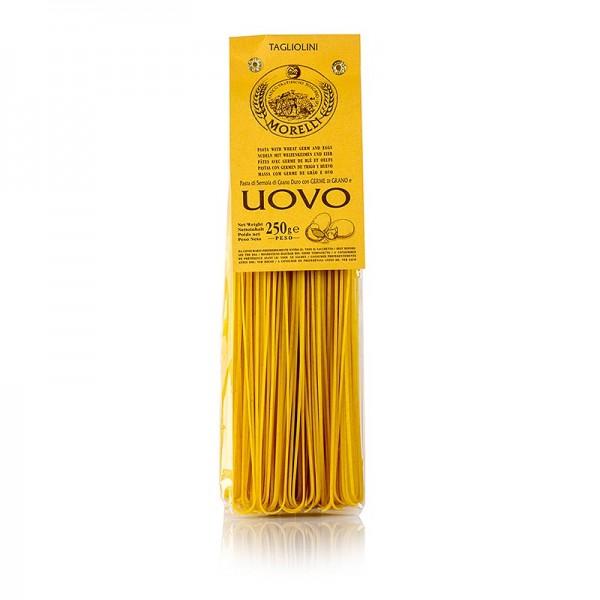 Morelli 1860 - Morelli 1860 Tagliolini al Uovo mit Ei und Weizenkeimen