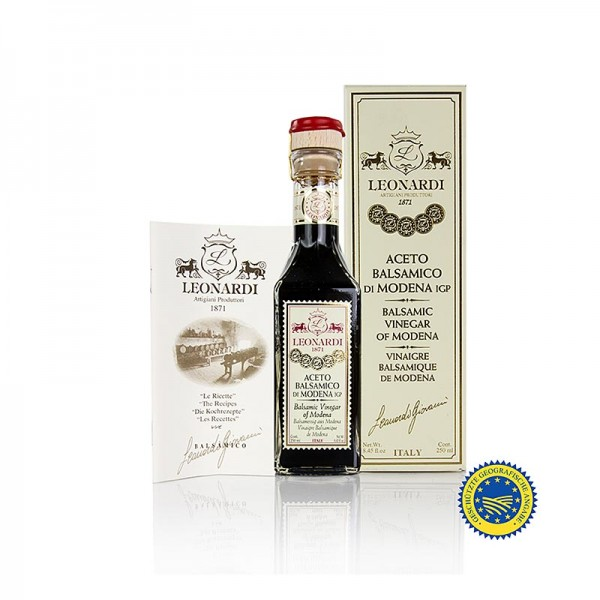 Leonardi - Leonardi - Aceto Balsamico di Modena IGP Francobollo 10 Jahre