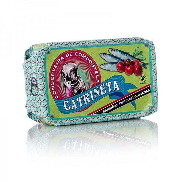 Catrineta - Sardinen (sardinillas guisadas) ganz in galizischer Soße Spanien