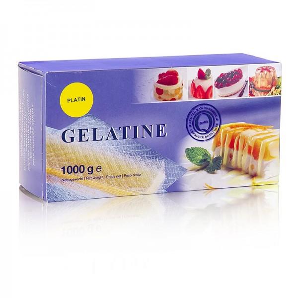 Ewald Gelantine - Blatt-Gelatine - Platin 230 Bloom