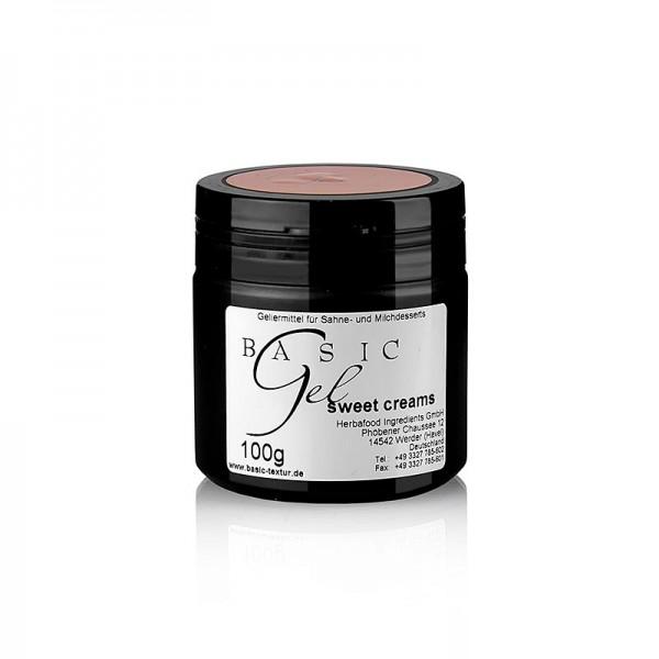Herbacuisine - Basic Gel - for sweet creams Braun vegan Herbacuisine