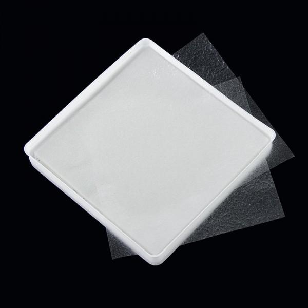Deli-Vinos Backzubehör - Obulato - Oblaten aus Kartoffelstärke transparent quadratisch 9x9cm