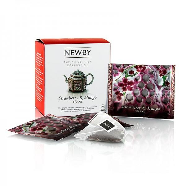 Newby Tea - Newby Tea Strawberry & Mango Infusion Früchtetee