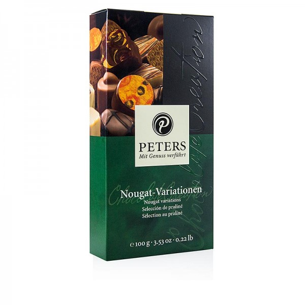 Peters - Pralinen-Mischung Nougat-Variationen 8 Stück Peters