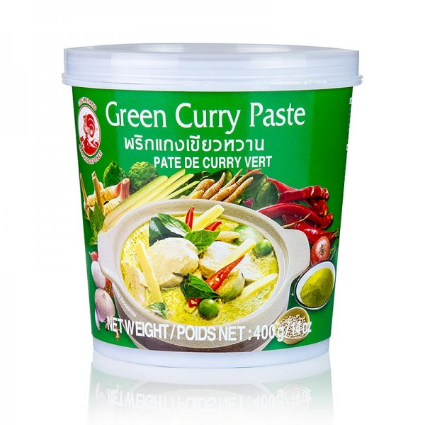 Cock Brand - Curry Paste grün Cock Brand
