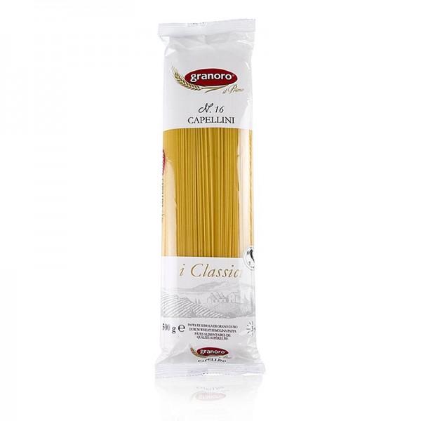 Granoro - Granoro Capellini sehr dünne Spaghetti 1mm No.16