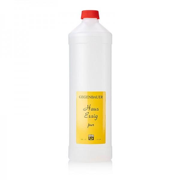 Gegenbauer Essige - Haus-Essig pur wasserklar 5% Säure