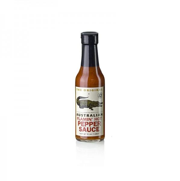The Original - Australian Flamin´ Hot Pepper Sauce von The Original