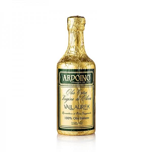 Ardoino - Olivenöl Ardoino Vallaurea ( Westligurien ) 0.5 l in der Goldfolie unfiltriert