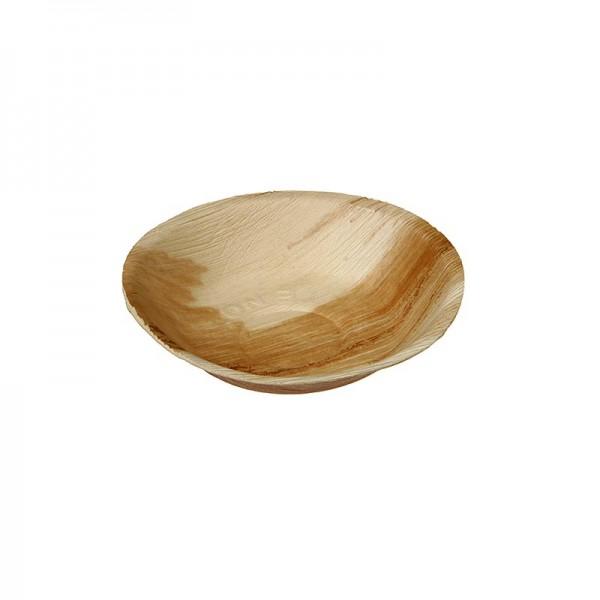 Naturesse - Naturesse Palmblatt Bowle (Schale) rund Ø18x3.5cm 350ml