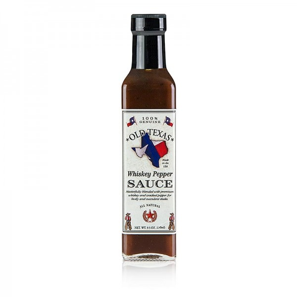 Old Texas - Old Texas - Whiskey-Pfeffer Steak Sauce