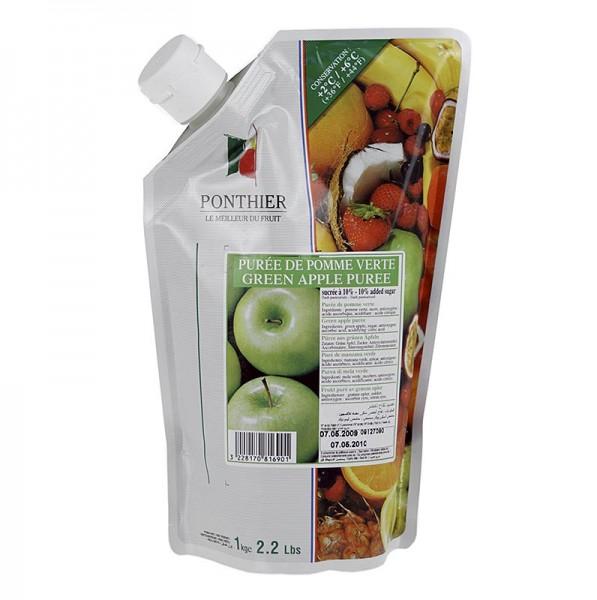 Ponthier Pürees - Püree- Grüner Apfel mit Zucker
