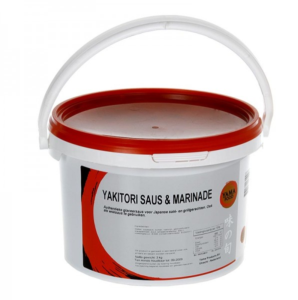 Deli-Vinos Asia - Yakitori Sauce für gegrilltes Geflügelfleisch dickflüssig