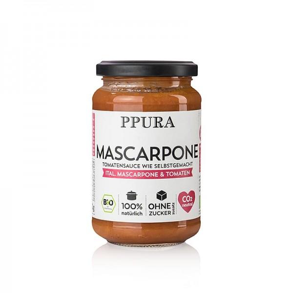 Ppura - Ppura Sugo Mascarpone - mit Mascarpone und Tomaten BIO