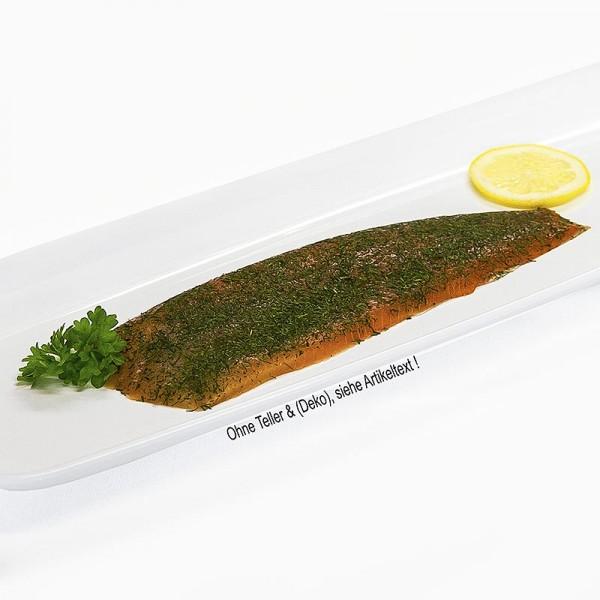 Deli-Vinos Sea Food - Norwegischer Graved Lachs gebeizt mit Dill geschnitten