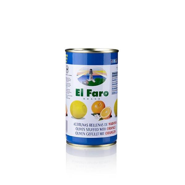 El Faro - Grüne Oliven mit Orangenpaste in Lake El Faro
