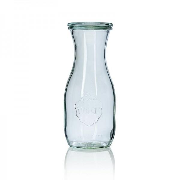 Weck - Glas Flasche 500ml mit Deckel Weck