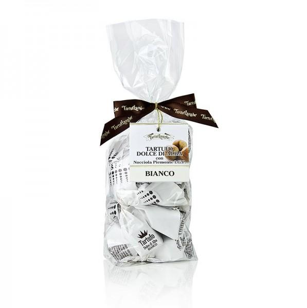 Tartuflanghe - Trüffelpralinen - Dolce d´Alba weiße Schokolade ca. 14g weiß