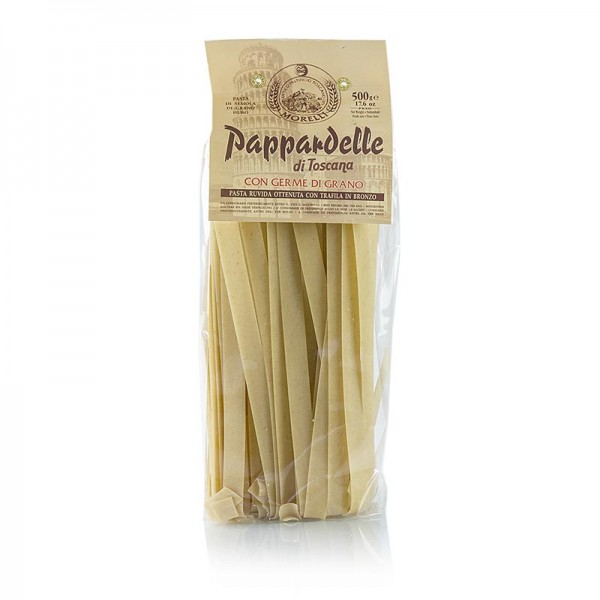 Morelli 1860 - Morelli 1860 Pappardelle Germe di Grano mit Weizenkeimen