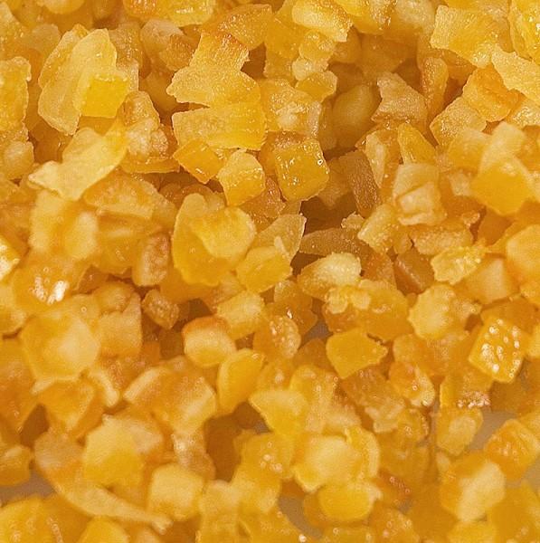 Gewürzgarten Selection - Orangeat kandierte Orangenschale fein gewürfelt 3mm