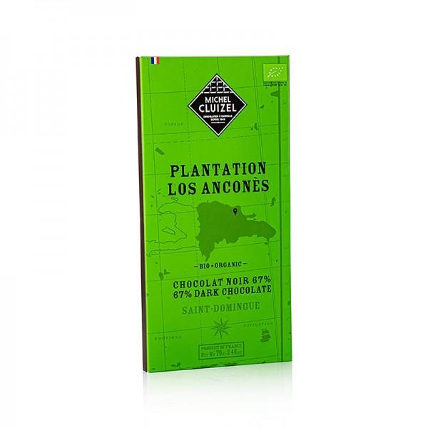 Michel Cluizel - Plantagenschokolade Los Ancones 67% Bitter Michel Cluizel (69188) BIO