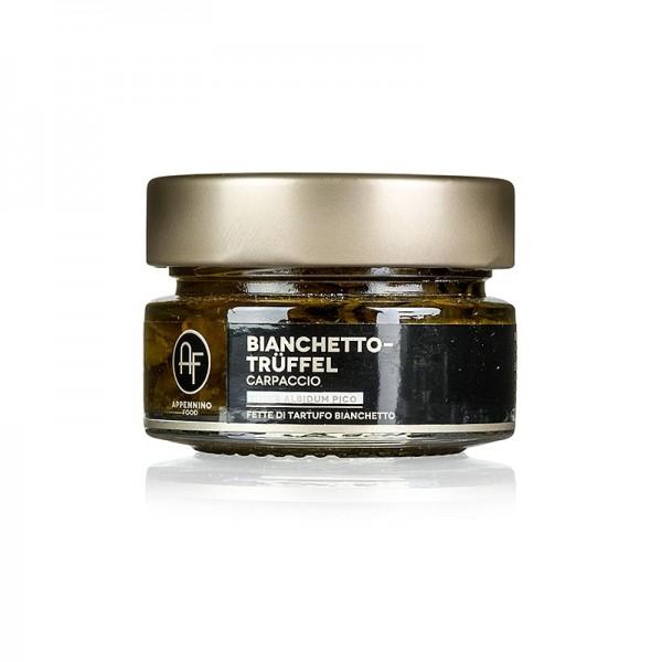 Appennino - Bianchettotrüffel - Carpaccio Appennino