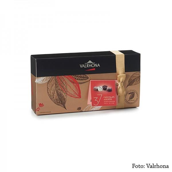 Valrhona - Valrhona Ballotin Sortiment feine Pralinenmischung 37 Stück