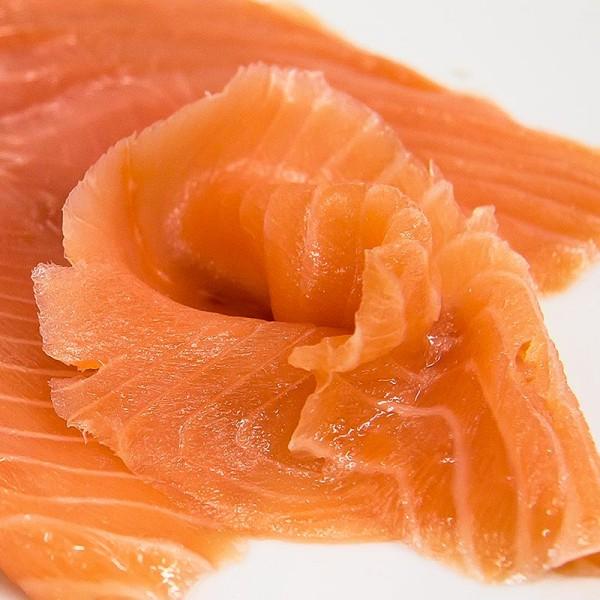 Deli-Vinos Sea Food - Schottischer Räucherlachs geschnitten