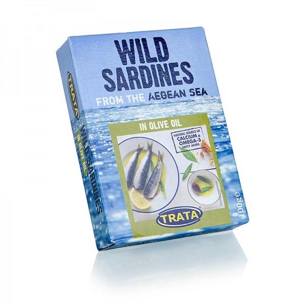 Trata - Sardinen in Olivenöl aus dem Ägäischen Meer Trata