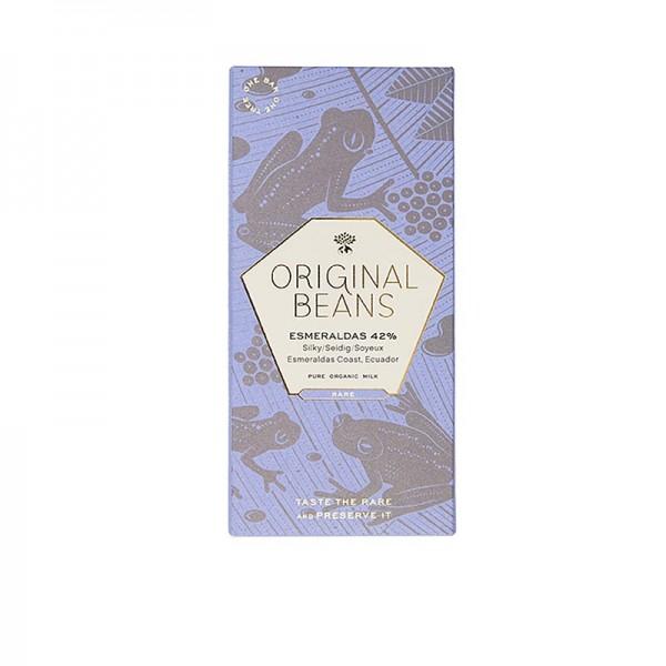 Original Beans - Esmeraldas Ecuador 42% Milch Schokoladentafel 70g von Original Beans BIO