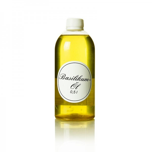Deli-Vinos Oil & Vinegar - Basilikumöl Rapsöl mit Basilikum