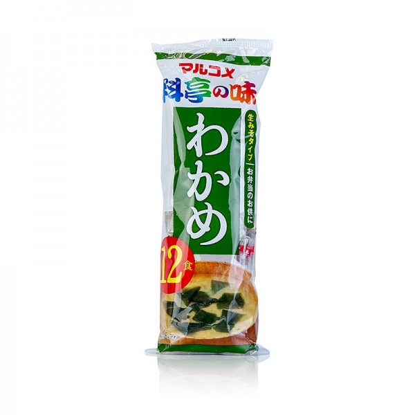 Wakame - Misosuppe - Instant mit Wakame hell