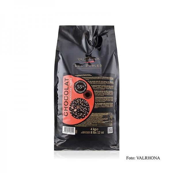 Valrhona - Schoko-Perlen zum Einbacken 55% Kakako Valrhona