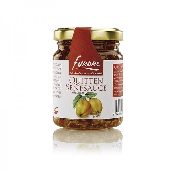 Furore - Furore - Quitten-Senf-Sauce mit Sesam